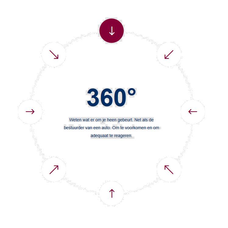 Systema: proportionele weerbaarheid 360 cirkel